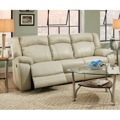 Seatonville Motion Reclining Sofa by Simmons Upholstery Recliner Mechanism: Power