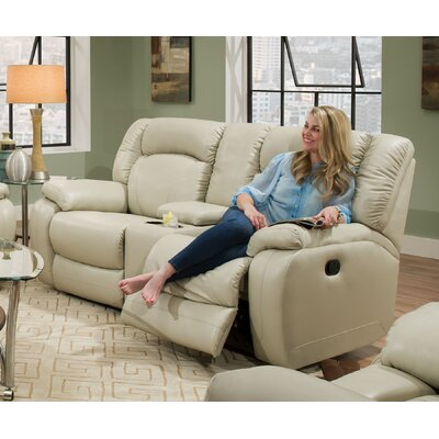 Seatonville Motion Reclining Loveseat by Simmons Upholstery Recliner Mechanism: Manual
