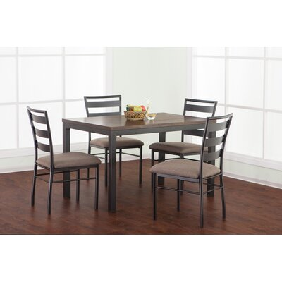 Girardville 5 Piece Dining Set by Simmons Casegoods