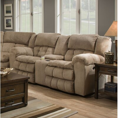 Henning Motion Reclining Loveseat by Simmons Upholstery Recliner Mechanism: Power