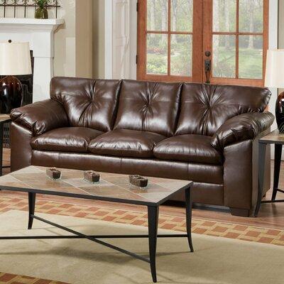 6569-03 Sebring Coffeebean UFI1638 Simmons Upholstery Sebring Sofa