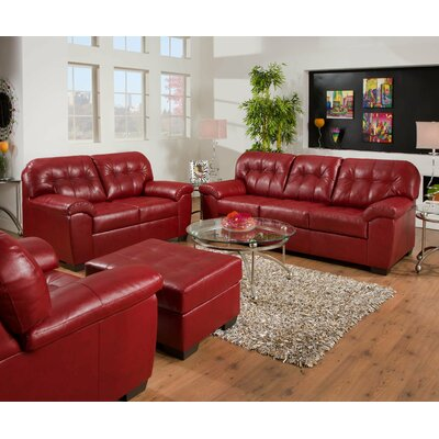 Simmons Upholstery 9569_Sofa /  9569_Loveseat Showtime Living Room Collection