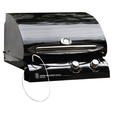 "The Outdoor GreatRoom Company 24"" Cook Number Black Porcelain Gas Grill Head at Sears.com"
