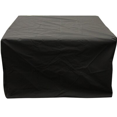 Square Vinyl Cover for Napa Valley or Rivers Edge Crystal Fire Pit Tables