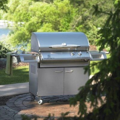 "The Outdoor Greatroom Company Legacy 36"" Cook Number Gas Grill with Deluxe Cabinet at Sears.com"