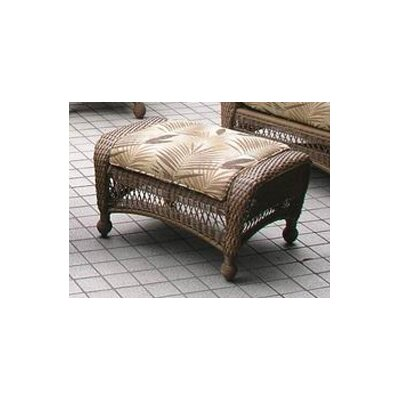 The Outdoor Greatroom Company All-Weather Wicker Ottoman with Cushion at Sears.com