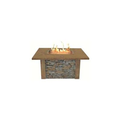 The Outdoor Greatroom Company Sierra Firepit Table with Rectangle Burner at Sears.com