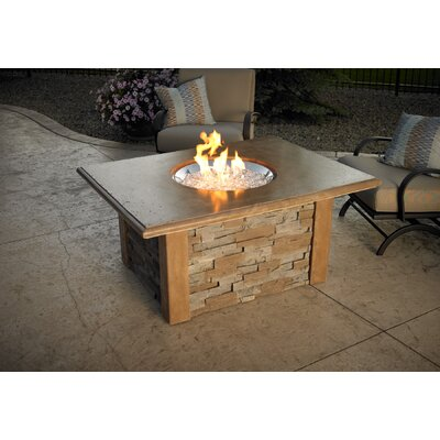 The Outdoor Greatroom Company Sierra Round Firepit Table with Round Burner at Sears.com