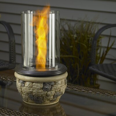 Easy financing Ledgestone Tabletop Gel Fuel Firepl...