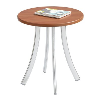 Decori� Wood End Table Color: Cherry