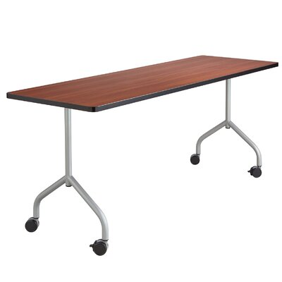 Training Table Legs Tabletop Finish: Silver