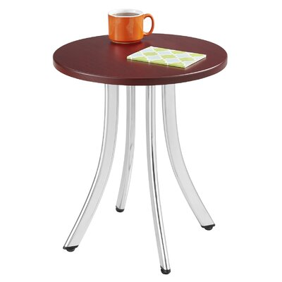 Decori� Wood End Table Color: Mahogany