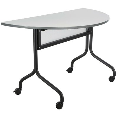48 W Training Table with Modesty Panel Tabletop Finish: Gray