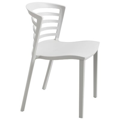 Entourage Stacking Chair Color: Gray Product Picture 7537