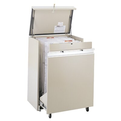 MasterFile 2 Small Hanging Filing Cart