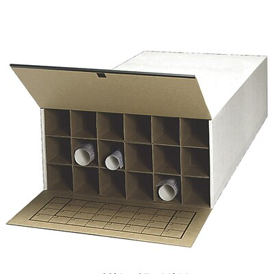 Tube-Stor Filing Box