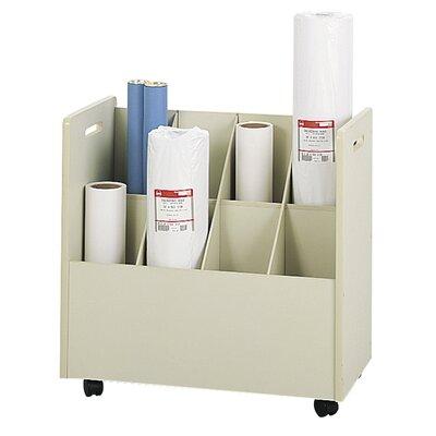 Mobile Roll File Filing Cart