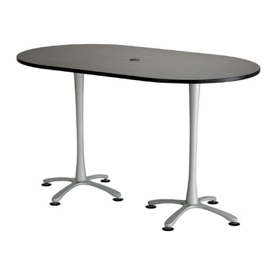 Cha-Cha Table Top Finish: Asian Night, Size: 42 H x 72 W x 42 D