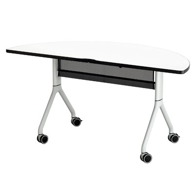 Rumba� Writing Desk Finish: Metallic Gray Product Photo 5927