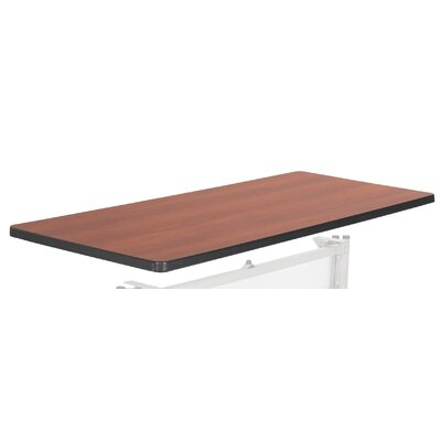 60 to 72 Rectangular Table with Black Legs