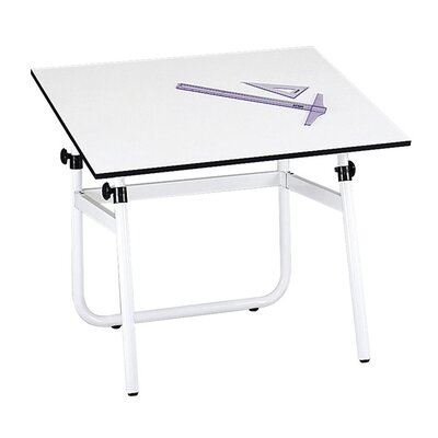 "0.75"" H X 48"" W Desk Drafting Table"