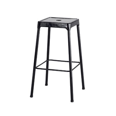 Shop Bar Stool Color: Black