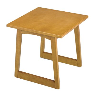 Urbane End Table Color: Medium Oak