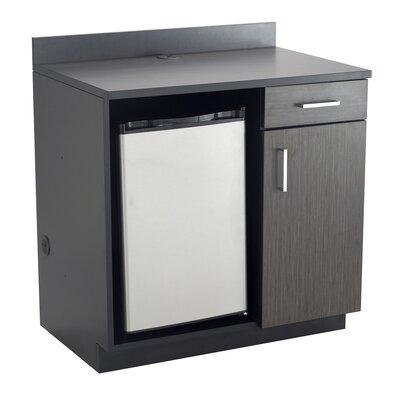 Modular Cabinetry 36 H x 36 W Desk File Pedestal Finish: Asian Night/Black