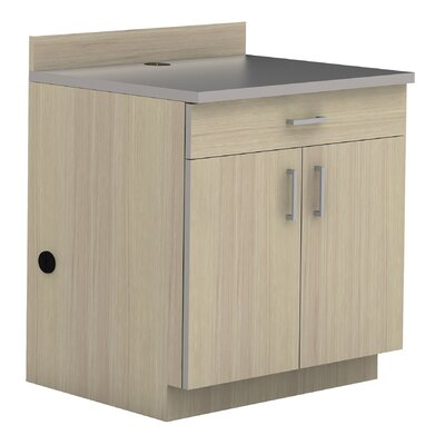 Modular Cabinetry 36 H x 36 W Desk File Pedestal Finish: Vanilla Stix/Gray