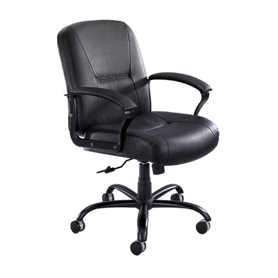 Mid Back Leather Desk Chair Product Picture 4866
