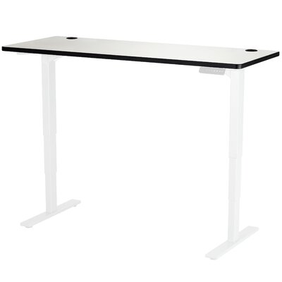 Electric Height Adjustable Table Finish: Gray