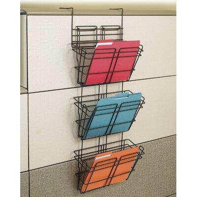 Panelmate Triple File Basket Organizer