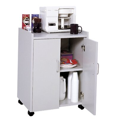 Kitchen Cart Color: Gray
