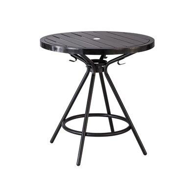 CoGo Round Dining Table Finish: Black, Size: 30 W x 30 L