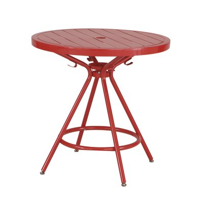 CoGo Round Dining Table Finish: Red, Size: 30 W x 30 L