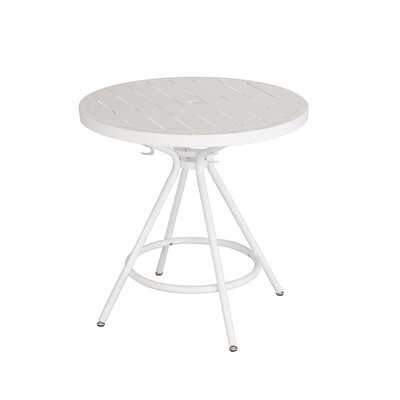 CoGo Round Dining Table Finish: White, Size: 30 W x 30 L