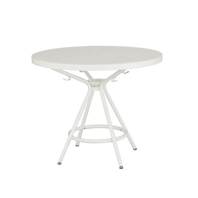 CoGo Round Dining Table Finish: White, Size: 36 W x 36 L