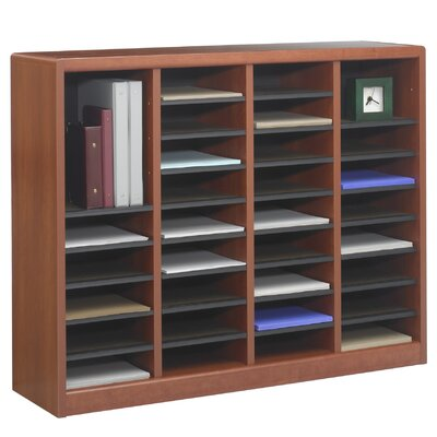 E-Z Store Literature Organizer Size: 36 Sections