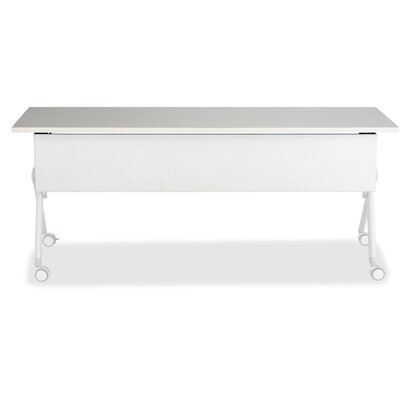 Tango Laminate Training Table Top Finish: White