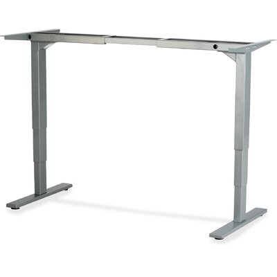 Electric Adjustable Training Table Base Finish: Gray