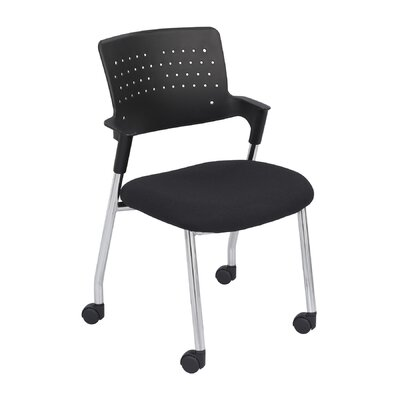 Spry Guest Chair Color: Black