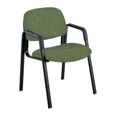 Cava Urth Guest Chair Color: Green, Frame Type: Straight Leg