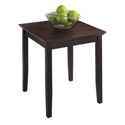 Bad credit financing End Table Finish: Mahogany...