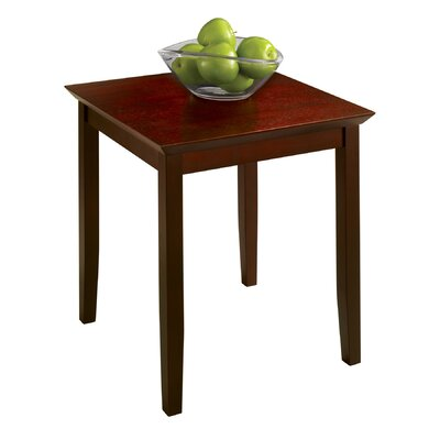 No credit check financing End Table Finish: Light Cherry...