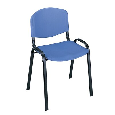 Contour Guest Chair Seat Finish: Blue