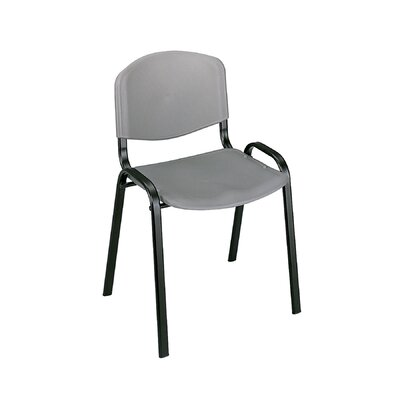 Contour Guest Chair (Set of 4) Seat Finish: Charcoal