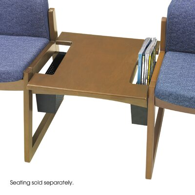 Urbane Straight Connecting Table Color: Medium Oak