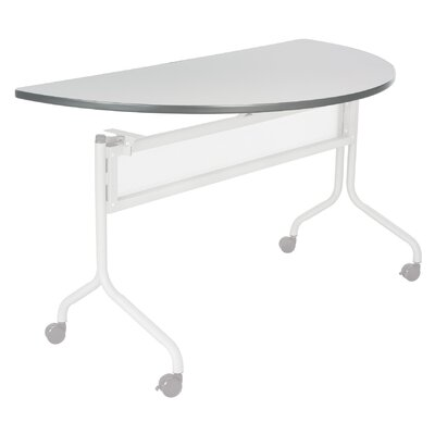 48 W Training Table Tabletop Finish: Gray