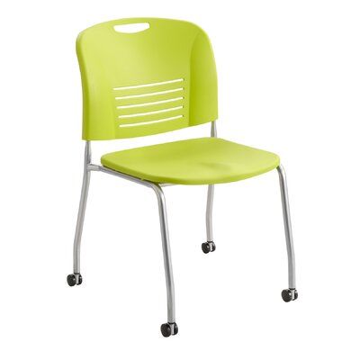 Vy Stack Chair (Set of 2) Seat Color: Grass