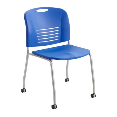 Vy Stack Chair (Set of 2) Seat Color: Lapis